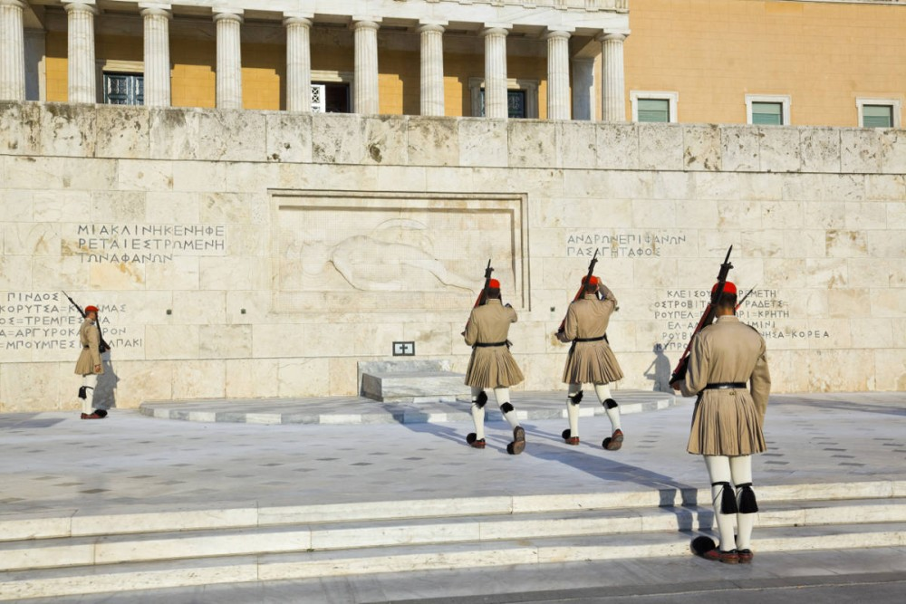 A Stroll at Syntagma Square, Admiring the Changing of Guards